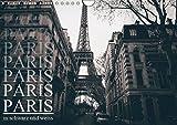 Paris - in schwarz und weiss (Wandkalender 2019 DIN A4 quer): Stillvoller schwarz weiss Kalender von Paris (Monatskalender, 14 Seiten ) (CALVENDO Orte)