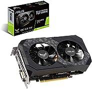 Asus TUF Gaming GeForce GTX 1660 Super Overclocked 6GB Edition HDMI DP DVI Gaming Graphics Card 90YV0CU2-M0AA0