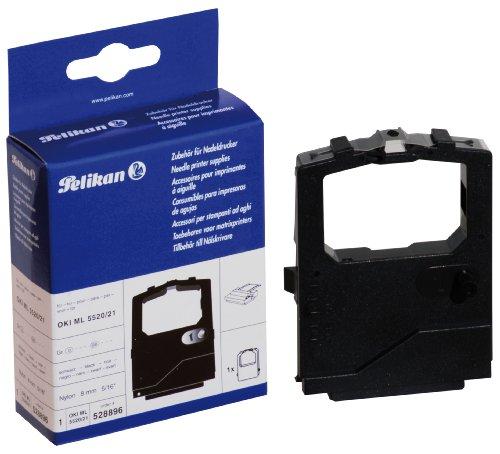 Preisvergleich Produktbild Pelikan Farbband für Oki ML 5520/ 5521/ 5590/ 5591, Nylon, 8 mm x 2.2 m, schwarz
