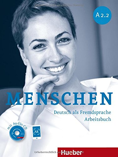 Menschen A2/2: Deutsch als Fremdsprache / Arbeitsbuch mit Audio-CD