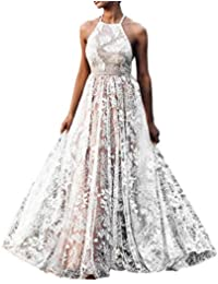 9f21f4ee2b96 Amazon.it  abiti da sposa principessa - Bianco   Vestiti   Donna ...