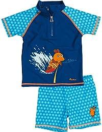 Playshoes Boy's UV Sun Protection 2 Piece Swim Set Surfing Mouse Swim Shorts