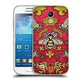 Head Case Designs Kord Und Bienen Gedruckte Patches Und Textilien Soft Gel Hülle für Samsung Galaxy S4 Mini I9190