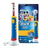 Oral-B Stages Power Kids Elektrische Kinderzahnbürste, im Disney Micky Maus Design -