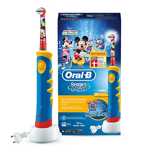 Oral-B Stages Power Kids Elektrische Kinderzahnbürste, im...