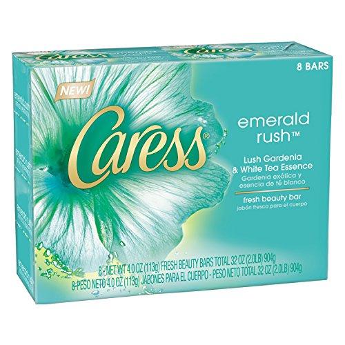 caress-beauty-bar-emerald-rush-lush-gardenia-white-tea-essence-4-oz-8-bar-by-caress
