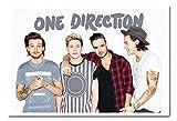 iPosters One Direction ohne Zain Landschaft Poster Magnettafel weiß gerahmt, 96,5x 66cm (ca. 96,5x 66cm)