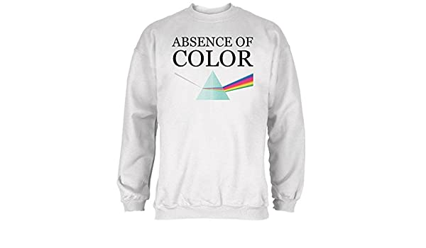 old glory halloween absence of color costume mens sweatshirt white