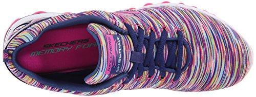 Skechers 12108 Scarpa ginnica Donna Blu