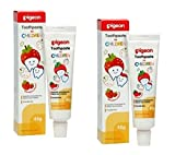 #7: Pigeon Combo Children Toothpaste (Strawberry) 45g, Pack of 2