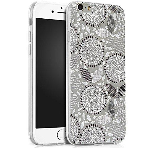 Coque iPhone 5C, iPhone 5C Coque Silicone, SainCat Ultra Slim Silicone Case Cover pour iPhone 5C, Ultra Slim Transparente Antichoc Soft Gel TPU Cover Coque Caoutchouc Transparent Silicone Case, Coque  Gris Tournesol