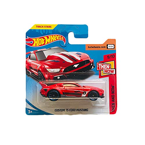 Hot Wheels Custom '15 Ford Mustang Then And Now 96/365 (Hot Wheels Mustang)