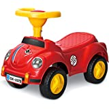 Saffire Cute Beetles Smart Mini Ride On, Red