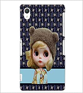 PrintDhaba Cute Doll D-3783 Back Case Cover for SONY XPERIA Z3 (Multi-Coloured)