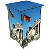 Preisvergleich für Photohocker Berlin, Reichstag Hocker Sitzhocker Holzwerkstoff Werkhaus