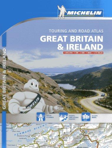 Atlas Great Britain & Ireland (Atlas de carreteras Michelin)