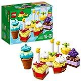 LEGO Duplo 10862 - Meine erste Geburtstagsfeier, Steine für Kleinkinder
