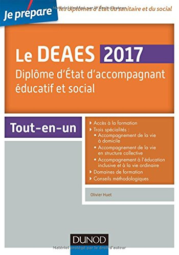 Je prépare le DEAES - Diplôme d'Etat d'accompagnement éducatif et social - Tout-en-un