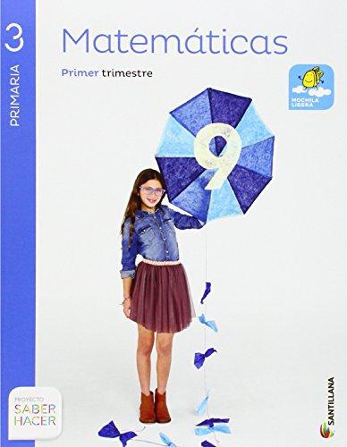 Matemáticas 3 Primaria, Saber Hacer, pack de 4 libros