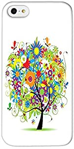 Timpax Protective Hard Back Case Cover Printed Design : A beautiful tree.Exclusively Design For : Apple iPhone 5 / 5S