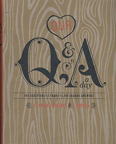 Our Q And A A Day: 3 Year Journal for 2 People