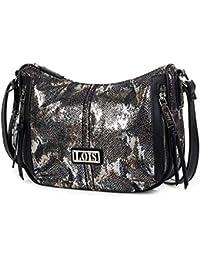 9db27b01f Lois - Bolso para Mujer Bandolera Shopping Góndola Hobo Hombro, Mochila.  Cuero PU Piel sintética Polipiel. Ideal para Diario, Compras o Viaje.