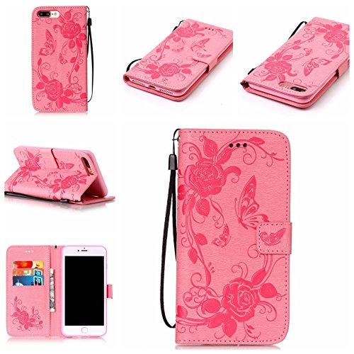Coque iPhone 7 Plus, Meet de pour Apple iPhone 7 Plus (5,5 Zoll) Folio Case ,Wallet flip étui en cuir / Pouch / Case / Holster / Wallet / Case, Apple iPhone 7 Plus (5,5 Zoll) PU Housse / en cuir Walle F