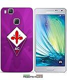 Cover Calcio Fiorentina per iPhone 3G 4S 5S 5C 6 6Plus 7 8 Plus X Huawei P6 P8 Lite P8 Lite 2017 P9 Lite P10 Lite P20 Lite per SPECIFICARE Il Modello Desiderato Inviare Un Messaggio al Venditore