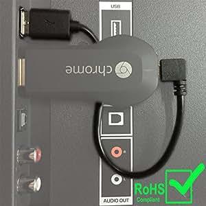 New Chromecast USB Cable. Designed to Power Your Google