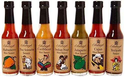 Edinburgh Preserves Hot & Spicy Sauces