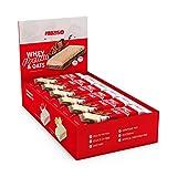 Prozis Whey Protein & Oats 12x80G - Excellente Source De Protéines & De Fibres - Booste La Force & La Croissance Musculaire - Meilleur Goût Chocolat - 12 Portions