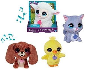 Hasbro FurReal Friends: The Luvimals - Fancy Lebon Gato de Juguete Felpa Juguetes de Peluche (Gato de Juguete,, FurReal Friends, Felpa, 4 año(s), Cat)