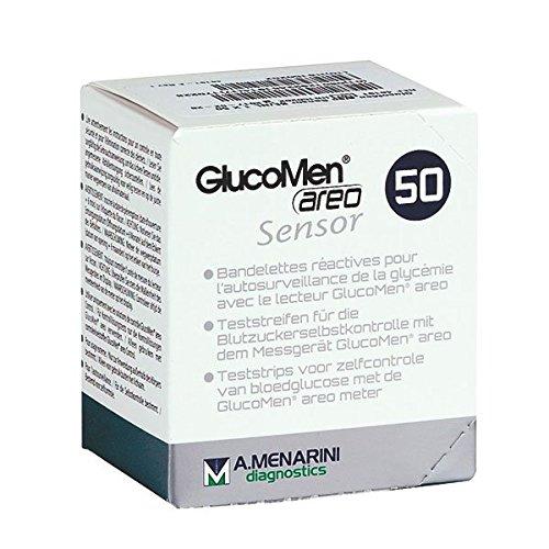 Glucomen 10382178 Teststreifen Areo Sensor, Originalware (50-er pack)