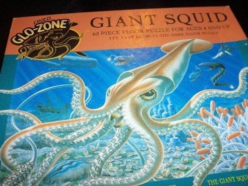 Glo-Zone Giant Squid Adventure Floor Puzzle by Ceaco