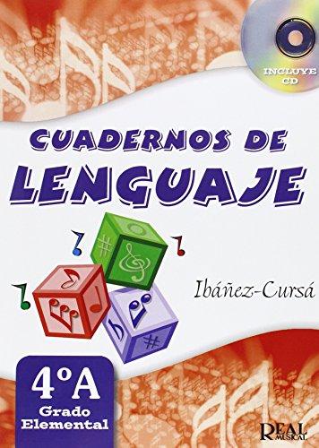 Cuadernos de Lenguaje 4A,  (Grado Elemental - Nueva Edición) (RM Lenguaje musical)