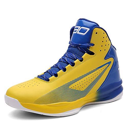 YSZDM Unisex Zapatos de Baloncesto, el Rendimiento de absorción de Choque Botas de Baloncesto Zapatillas...