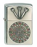 Original Zippo Dartboard Emblem, Darts, Dart, Dartscheibe