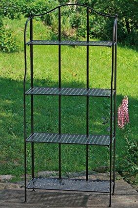 Metallregal für Haus und Garten