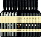 12er Vorteilspaket - Mandus Primitivo di Manduria DOC 2016 - Pietra Pura | trockener Rotwein | italienischer Wein aus Apulien | 12 x 0,75 Liter