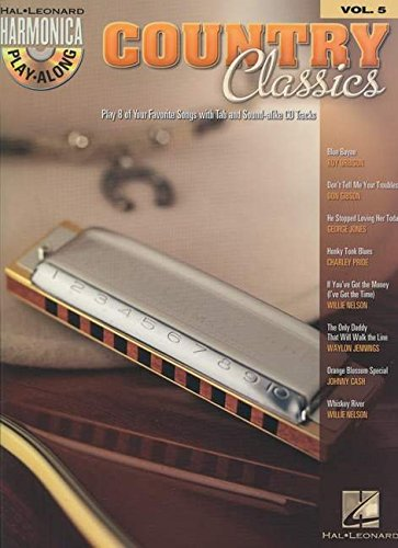 Harmonica Play-Along Volume 5: Country Classics: Play-Along, CD für Mundharmonika (diat./chr.) -