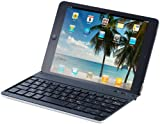 GeneralKeys Kabellose iPad-Tastatur: Tastatur mit Bluetooth, Schutzcover & Halterung für iPad mini (Tastaturen für iPad-Minis)