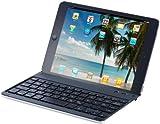 GeneralKeys iPad-Tastaturen kabellos: Tastatur mit Bluetooth, Schutzcover & Halterung für iPad mini (Cordless iPad Keyboard)