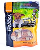 Webbox 3in1 Triple Flavour Knotted Bones, Pack of 6