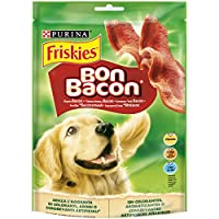 Purina - Friskies Bon Bacon Snacks para Perro - Pack de 6 x 120 g - Total 720 g