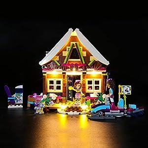 BRIKSMAX Kit di Illuminazione a LED per Lego Friends Chalet del Villaggio Invernale,Compatibile con Il Modello Lego… 0716852282685 LEGO