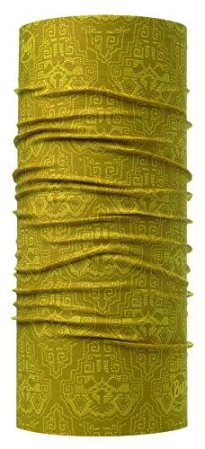 Original Buff 115212.105.10.00 Tubular de Microfibra, Hombre, Amarillo, Talla Única