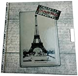 Tagebuch mit Schloss - Esprit Paris Classic 180 Seiten liniert 17 x 16 cm Motiv Eiffelturm