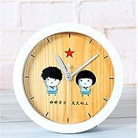 DIDADI Alarm clock Burlywood alarm stilvolle Cartoon creative clock Lai, der Tabelle, wenn der Kopf des Uhren... preisvergleich bei billige-tabletten.eu
