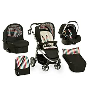 Hauck Lacrosse All in One 10-teiliges Kinderwagen Komplettset Stone