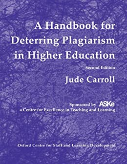 plagiarism in higher learning And in teaching and learning, both staff  ed issues of plagiarism by students for   assessment & evaluation in higher education 33: 607–617.